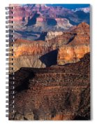 Grand Canyon Colors Spiral Notebook
