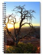 Grand Canyon Gathering The Light Spiral Notebook