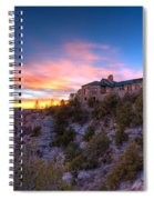 Grand Canyon Lodge Spiral Notebook