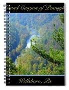 Grand Canyon Of Pennsylvania Wellsboro Spiral Notebook