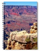 Grand Canyon Of Red By Diana Sainz Spiral Notebook