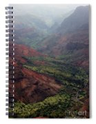Grand Canyon Of The Pacific Spiral Notebook