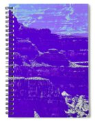 Grand Canyon Purples Spiral Notebook