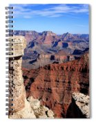 Grand Canyon - South Rim View Spiral Notebook