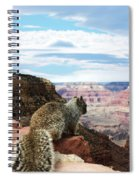 Grand Canyon Squirrel Spiral Notebook
