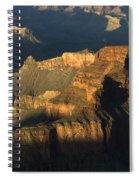 Grand Canyon Symphony Of Light And Shadow Spiral Notebook