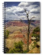 Grand Canyon View From The South Rim Spiral Notebook