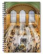 Grand Central Terminal Birds Eye View I Spiral Notebook