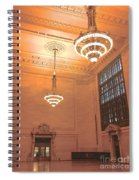 Grand Central Terminal Chandeliers Spiral Notebook