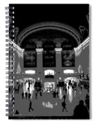 Grand Central Terminal Poster Spiral Notebook