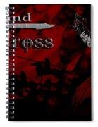 Grand Cross Poster Art Spiral Notebook