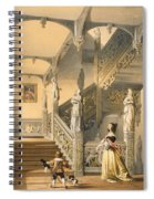 Grand Elizabethan Staircase Spiral Notebook