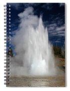 Grand Eruption Spiral Notebook