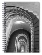 Grand Flora Stairwell Rome Italy Spiral Notebook