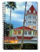 Grand Floridian Resort Walt Disney World Spiral Notebook