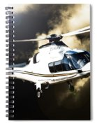 Grand Flying Spiral Notebook