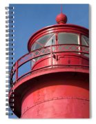 Grand Haven Red Spiral Notebook