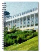 Grand Hotel Mackinac Island Ll Spiral Notebook