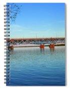 Grand Island Bridge 2 Spiral Notebook