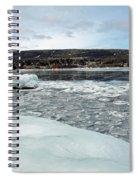 Grand Marias Cityscape Spiral Notebook