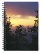 Grand Mesa Sunset Spiral Notebook