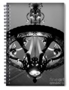 Grand Old Lamp - Vintage Grand Central Station Spiral Notebook