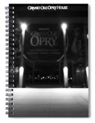Grand Ole Opry At Night Spiral Notebook