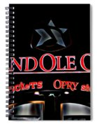 Grand Ole Opry Entrance Spiral Notebook