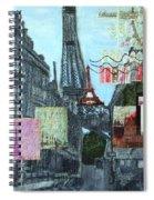 Grand Ole Paris-postcard From Paris Spiral Notebook