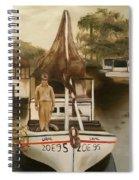 Grand Paw Domangue Spiral Notebook