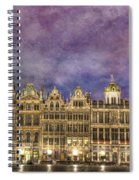 Grand Place Spiral Notebook