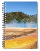 Grand Prismatic Spring - Yellowstone National Park Spiral Notebook