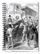 Grand Prix De Paris, 1870 Spiral Notebook