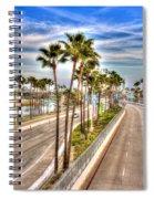 Grand Prix Of Long Beach Spiral Notebook