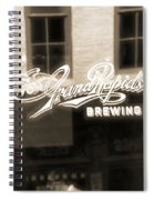 Grand Rapids Brewing Co Spiral Notebook
