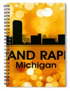 Grand Rapids Mi 3 Spiral Notebook