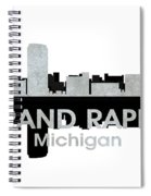 Grand Rapids Mi 4 Spiral Notebook