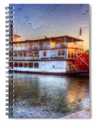 Grand Romance Riverboat Spiral Notebook