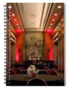 Grand Salon 01 Queen Mary Ocean Liner Spiral Notebook