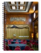 Grand Salon 02 Queen Mary Ocean Liner Spiral Notebook