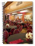 Grand Salon 03 Queen Mary Ocean Liner Spiral Notebook
