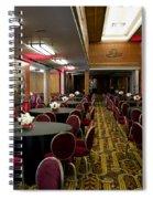 Grand Salon 04 Queen Mary Ocean Liner Spiral Notebook