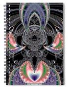 Grand Stage Entrance Fractal Spiral Notebook