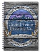 Grand Teton Brewing Spiral Notebook