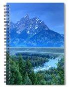 Grand Teton  - Snake River Overlook  Spiral Notebook