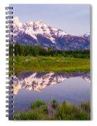 Grand Teton Reflection Spiral Notebook