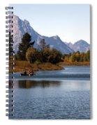 Snake River, Grand Tetons, Wyoming Spiral Notebook