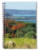 Grand Traverse Winery Lookout Spiral Notebook