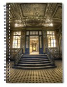 Grand Wide Entrance Spiral Notebook
