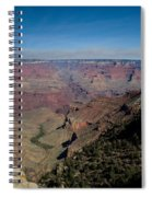 Grande Canyon Afternoon Spiral Notebook